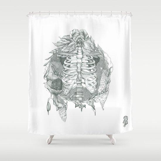 B L O S S O M Shower Curtain