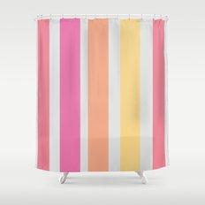 Orange & Pink Shower Curtain