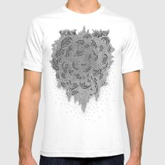 disease#10 unmapped Mens Fitted Tee White SMALL