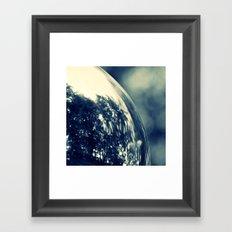 SPIEGELUNG - CROSS/PROCESS Framed Art Print