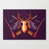 Hunter Memory Canvas Print