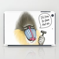 Shave that Ass iPad Case