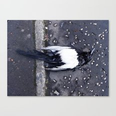 ONE FOR SORROW Canvas Print