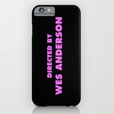 Directed By Wes Anderson iPhone 6 Slim Case