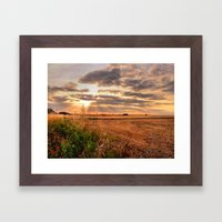 A Perfect End Framed Art Print