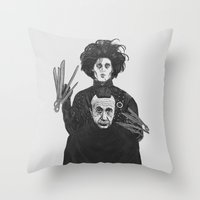 Bored With My Old Hairst… Throw Pillow