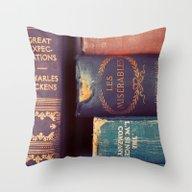 Sunday Reading Throw Pillow