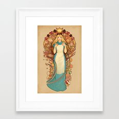 Curious and Curiouser Framed Art Print