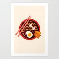 Ramen Art Print