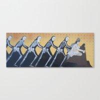 Mithra & On & On & On & On & On Canvas Print