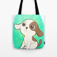 Lil Puppy Tote Bag