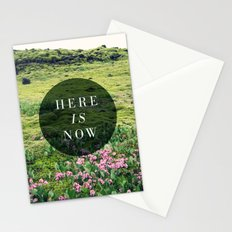 Here Is Now Stationery Cards