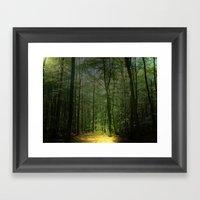 Zauberwald  Framed Art Print