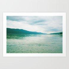 lake 0102 Art Print