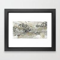 Shiver Framed Art Print