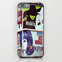 iPhone & iPod Case featuring New York City Broadway Signs by Eye Shutter to Think