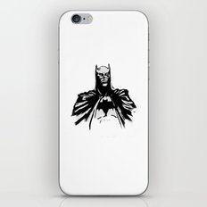 The Dark Bruce iPhone & iPod Skin