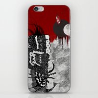 Man on fire iPhone & iPod Skin