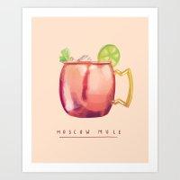 Moscow Mule Art Print