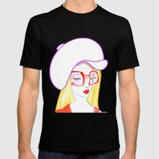 Hip Girl Mens Fitted Tee Black SMALL