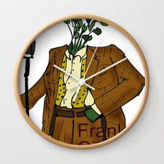 Frank Cilantro Wall Clock