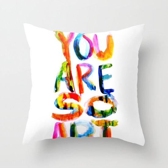 You are So Art Throw Pillow