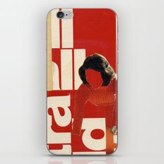 Red in the face iPhone & iPod Skin