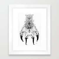 Crab Man Framed Art Print