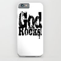God Rocks In Distressed … iPhone 6 Slim Case