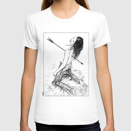 Apollonia Saintclair - 20120701 La flèche noire T-shirt