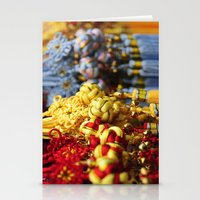 Asian Tassles Stationery Cards