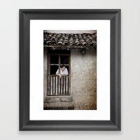 Morning From San Esteban… Framed Art Print