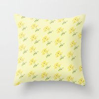 Blooming Throw Pillow