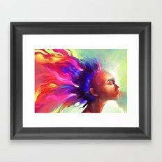 Dragons Breath  Framed Art Print