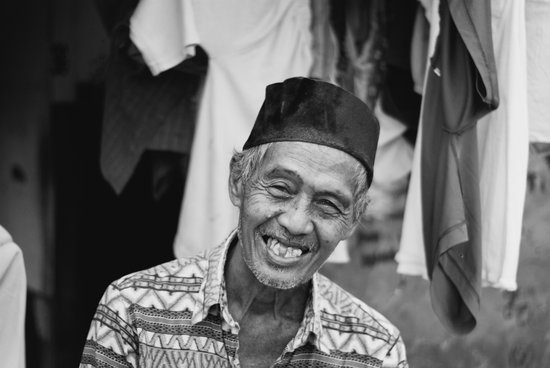 Indonesian Smile Art Print
