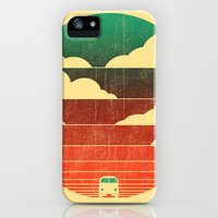 iPhone 5s & iPhone 5 Cases featuring Go West by Budi Kwan