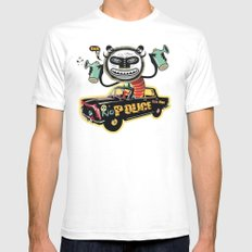 No limit Mens Fitted Tee White SMALL