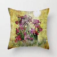 vegetal tag Throw Pillow