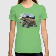Pimp My Ride (Wordless) Womens Fitted Tee Grass LARGE