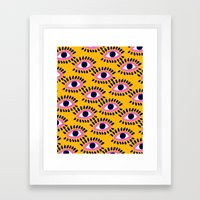Colorful Eyes IV. Framed Art Print