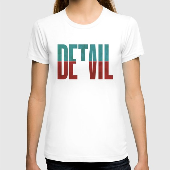 Devil in the detail. T-shirt