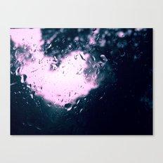 Heart Drops Canvas Print