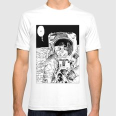 asc 333 - La rencontre rapprochée ( The close encounter) Mens Fitted Tee White SMALL