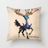 I Am Legendary X - Geome… Throw Pillow