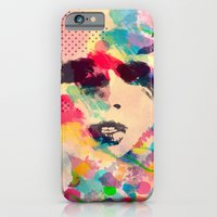 Abstract girl iPhone 6 Slim Case