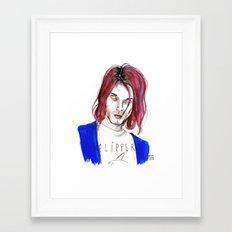 Kurt No,6 Framed Art Print