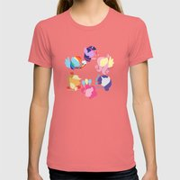 Mane Six Womens Fitted Tee Pomegranate SMALL