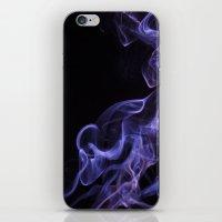 veil of smoke iPhone & iPod Skin