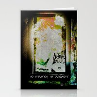 No Intuition, No Judgment Stationery Cards