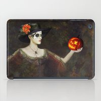 Lady Of The Pumpkins - H… iPad Case